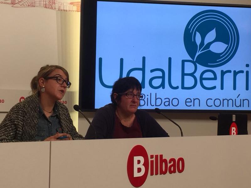 Ante un nuevo reglamento que obstaculiza la participación, EH Bildu y UdalBerri Bilbao en Común dejarán de asistir a los Plenos en los Distritos